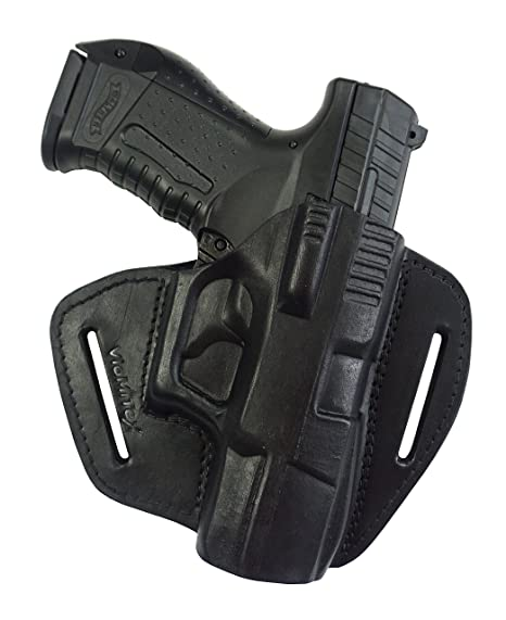 amazon com vlamitex u5 leather quick draw holster for walther p99