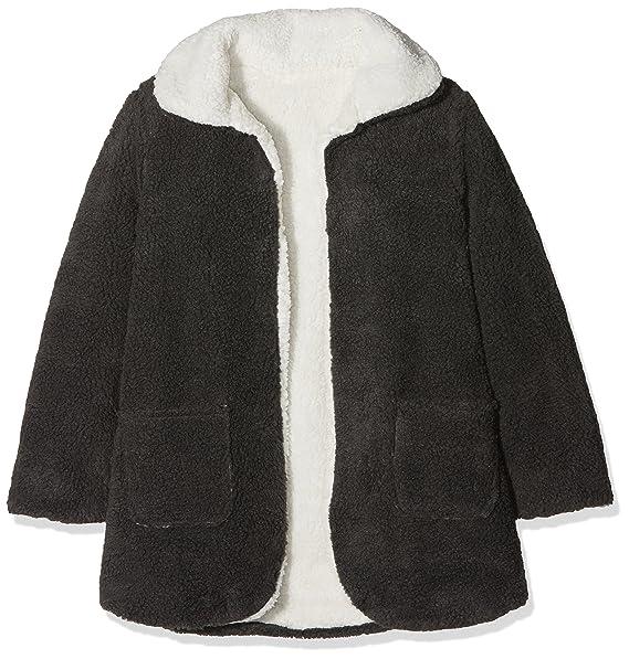 neck & neck 17I12106.81, Abrigo para Niñas, (Gris Marengo), 6 años (Tamaño del Fabricante:6A): Amazon.es: Ropa y accesorios