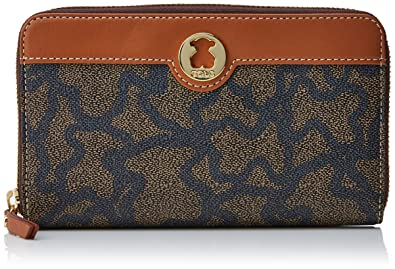 Tous Billetera Kaos New Total, Womens Wallet, Multicolour (Nude/Jeans)