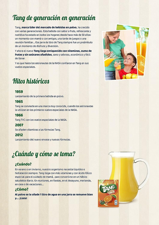 Tang - Refresco en Polvo Sabor Limon, 30 g: Amazon.es: Alimentación y bebidas