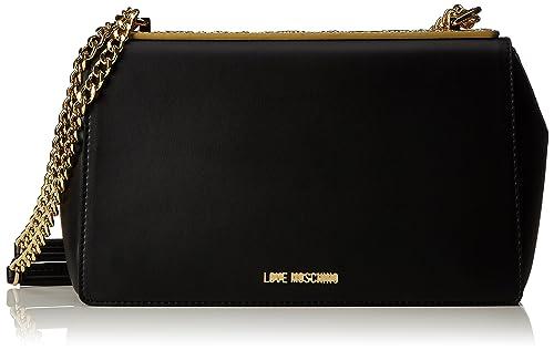 A Oro Borse Calf tpu Spalla Love Borsa Donna Moschino Pu Nero xnpwCn16q8