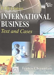 International Business : Text and Cases 5 Edition price comparison at Flipkart, Amazon, Crossword, Uread, Bookadda, Landmark, Homeshop18