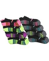 Saucony Women's Performance No Show Tab Socks - 8 Pack