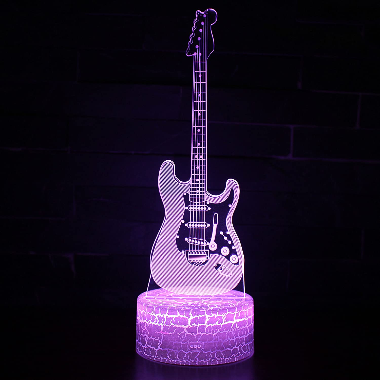 Tsqqst Nueva Guitarra Eléctrica De Fondo De Grieta 3D Estéreo De ...