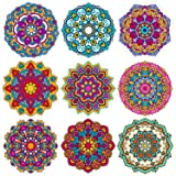 Coasters Set of 9 Absorbent Stone Coaster for