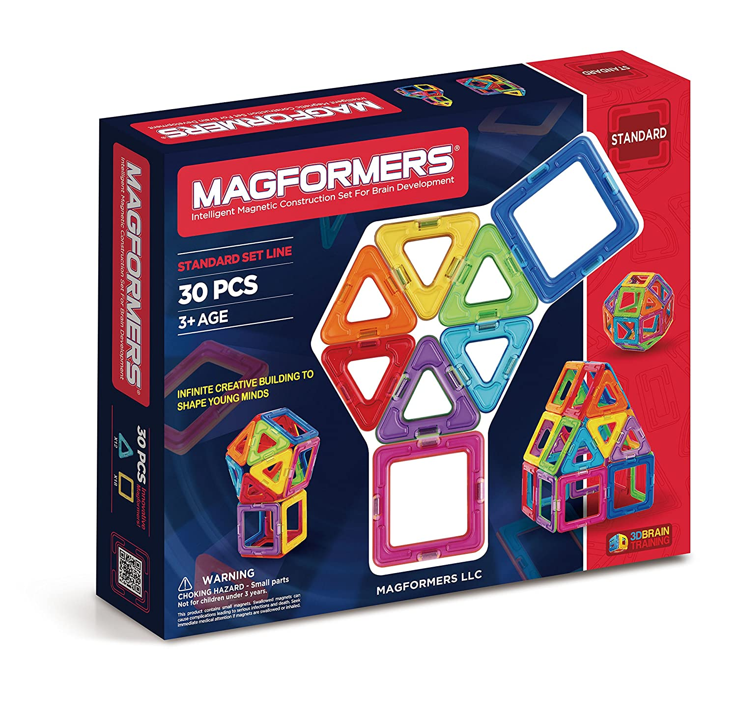 Amazon Magformers Standard Set 30 pieces Toys & Games