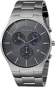 Skagen Men's SKW6077 Balder Grey Titanium Link Watch