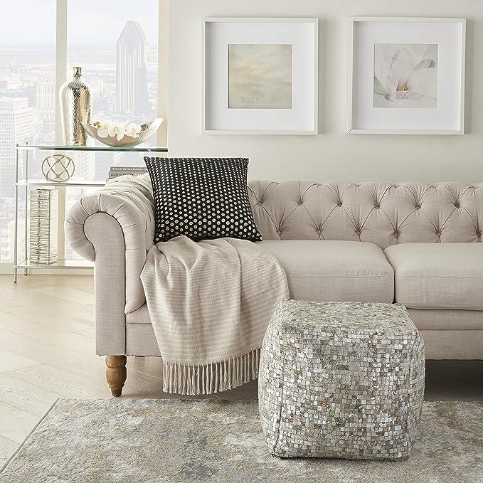 Amazon Com Inspire Me Home Decor Inspire Me Home Deco 18 X 18 Black Gold Home Kitchen