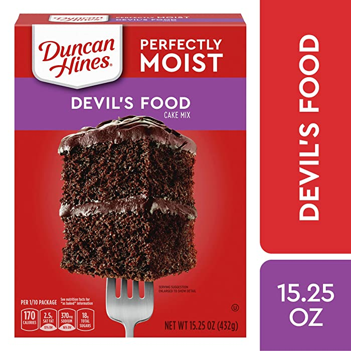 Top 9 Duncan Hines Cake Mix Devils Food