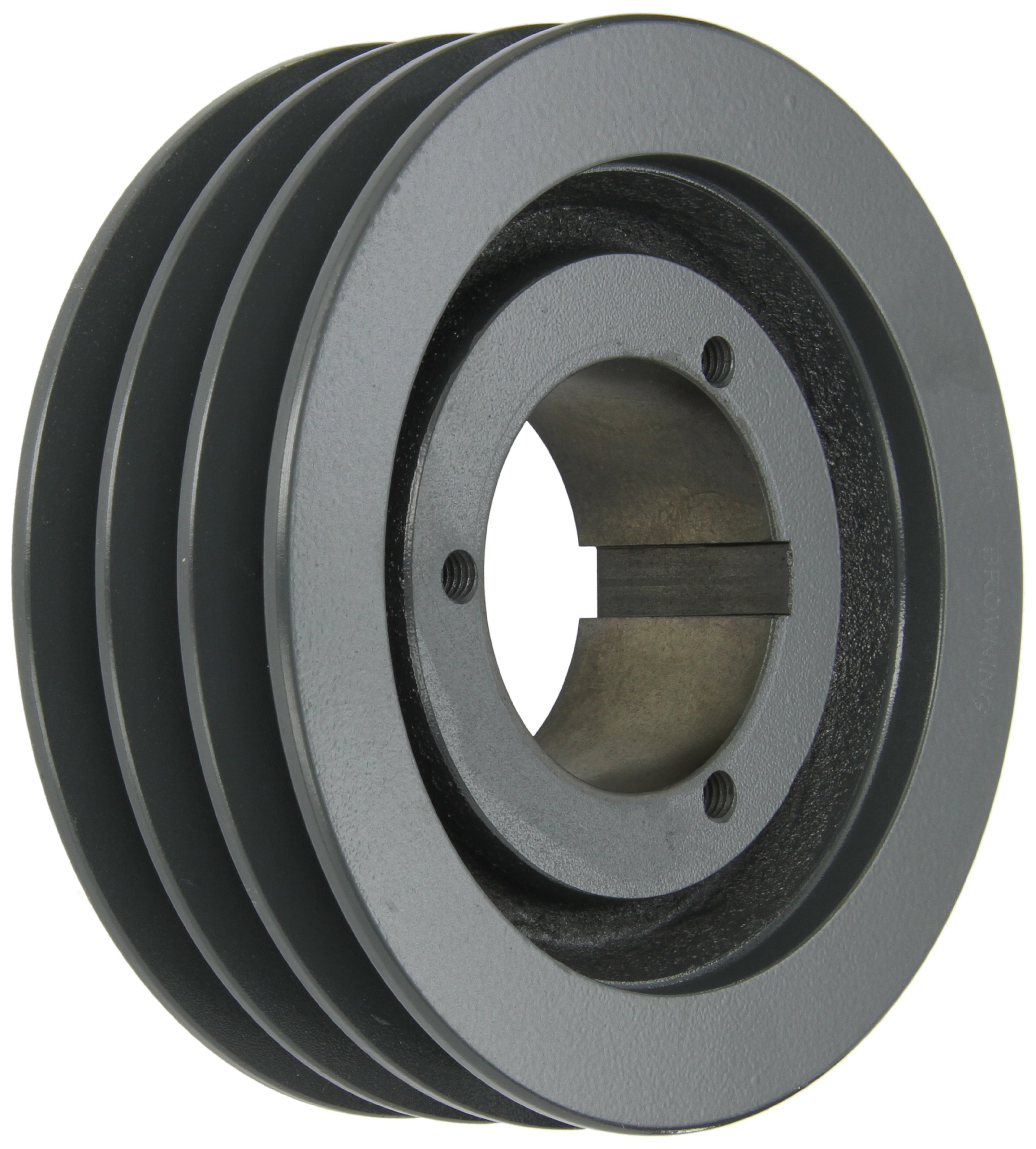 Browning 3TB70 Split Taper Sheave, Cast Iron, 3 Groove, A or B Belt, Uses Q1 Bushing