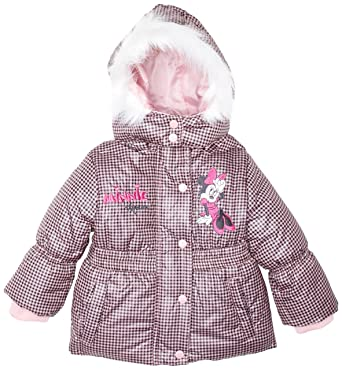 2be0cffe0efa3 Disney - Manteau Bébé fille HM0109 - Blanc (Optic White Pink) - 18 ...