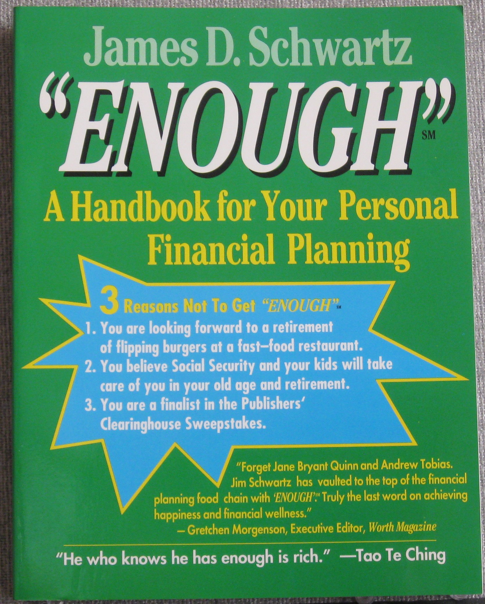 Buy Enough: A Guide to Reclaiming Your American Dream