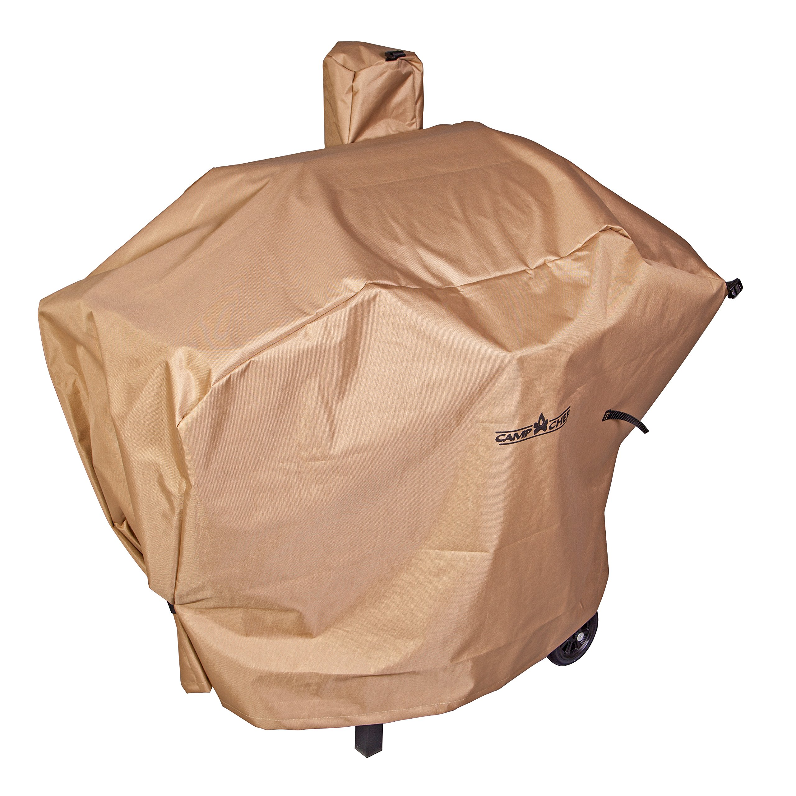 Camp Chef Weather Resistant Nylon Heavy Duty 24'' Pellet Grill Patio Cover, Tan