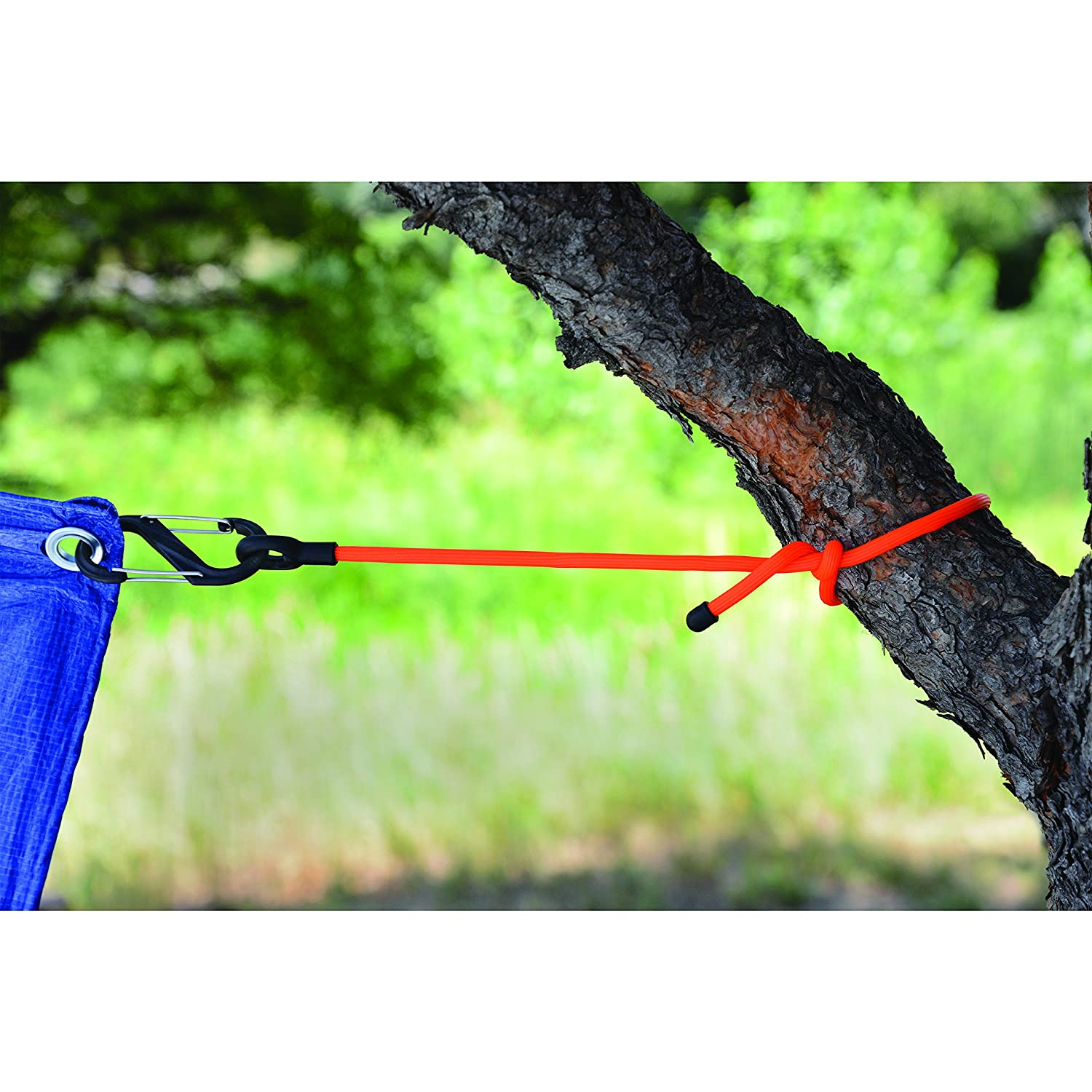 The Original Reusable Rubber Twist Tie with A Convenient S-Biner Clip for Hanging 12-Inch Organizing Black Nite Ize Gear Tie Clippable