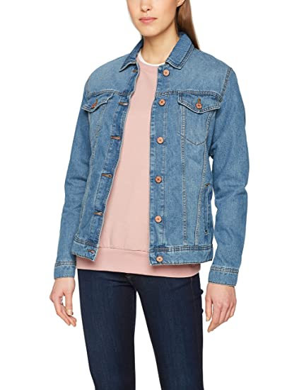 s Denim Jacket Noos, Veste en Jean Femme, (Light Blue Denim), 42 (Taille Fabricant: X-Large)