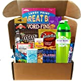Get Well - Feel Better Soon Gift Care Package - Includes Boredom Busters, Snacks, Water Bottle, More - Several to Choose…