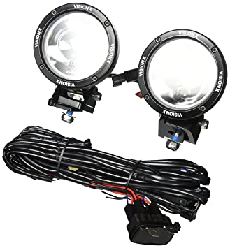 Vision X Lighting 9151069 Cannon Black 4.5 Inch 25W Narrow LED Light Kit