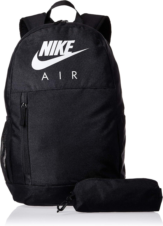 NIKE Y Nk Elmntl Bkpk - Gfx Fa19 Sports Backpack, Unisex niños, Black/Black/(White), MISC