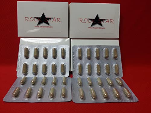 Rock Star Natural Male Enhancement Testosterone Booster Pills 40