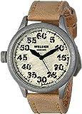 Welder - K20 501 - Montre Mixte - Quartz - Analogique - Bracelet Cuir Beige