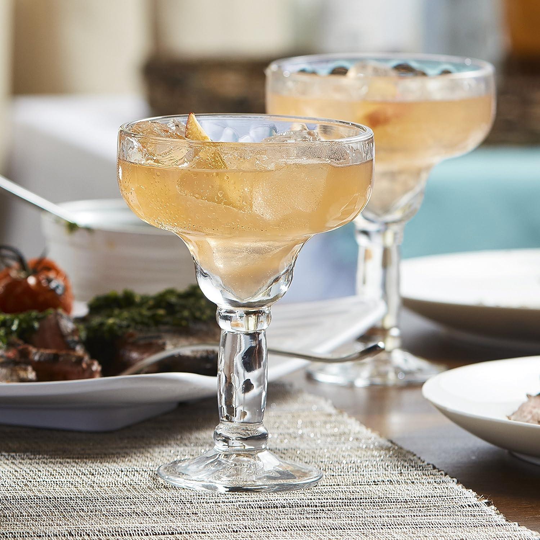 Set of 4 Libbey Yucatan Margarita Glasses