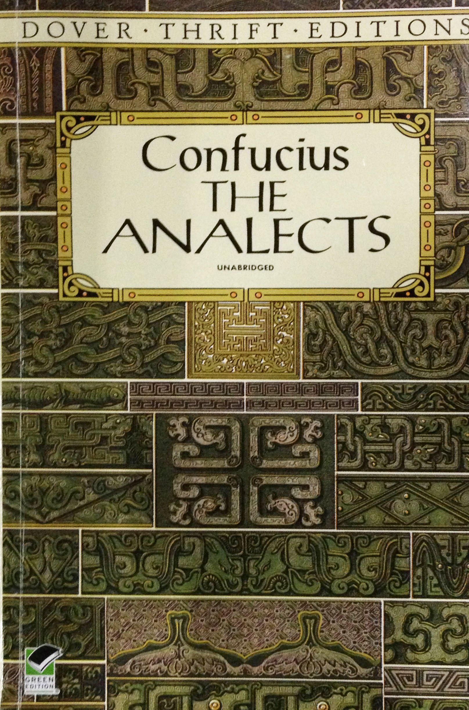 Amazon.com: The Analects (Dover Thrift Editions) (9780486284842):  Confucius, William Edward Soothill: Books