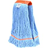 Nine Forty USA Floor Cleaning Wet Mop Head Refill | Replacement - Janitorial Heavy Duty Industrial | Commercial Yarn (1…