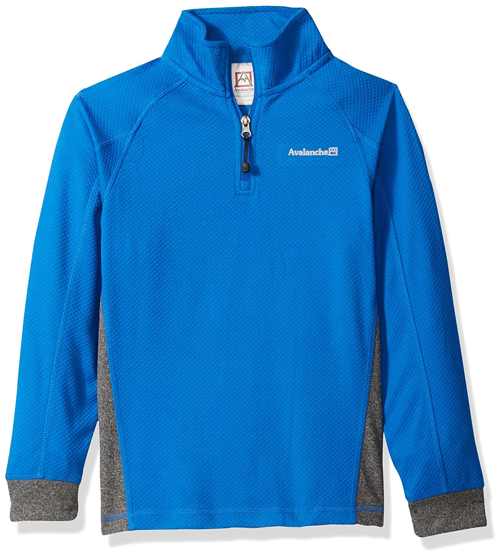 Avalanche Boys Big Quarter Zip Fleece Pullover