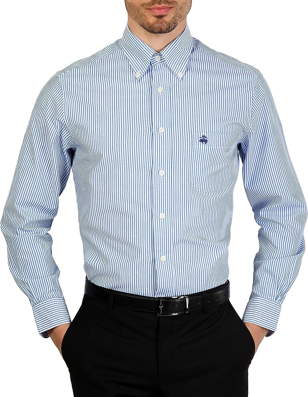 Camisa Brooks Brothers 100047772 azul slim - hombre - XXL: Amazon.es: Ropa y accesorios