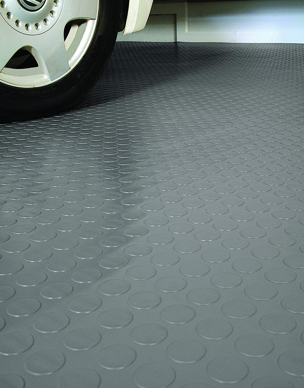 G-Floor Coin 86x24 Garage Floor Mat in Midnight Black