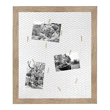Amazon.com - DesignOvation Beatrice Framed Chicken Wire Clip Collage ...