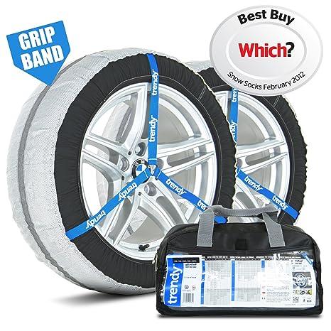 Fundas de nieve para ruedas, 38 M, ajuste universal para neumáticos 205/55