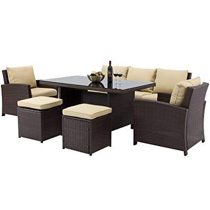Amazoncom Best Choice Products Complete Outdoor Living Patio - Why-wicker-patio-furniture-is-the-best-choice-for-your-outdoor-needs
