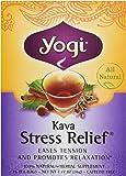 Yogi Tea Organic Kava Stress Relief Tea, 16 Bags, 1.02 oz