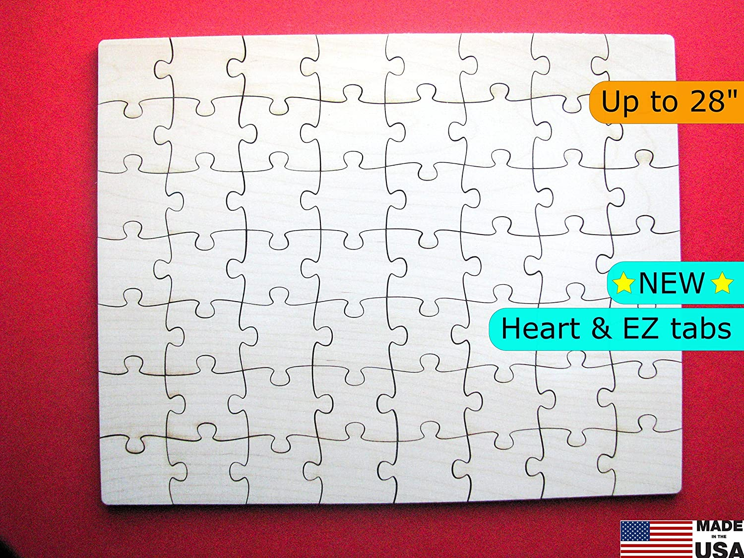 Guestbook Alternative wooden puzzle for weddings, graduations, anniversaries, baby shower, sweet 16