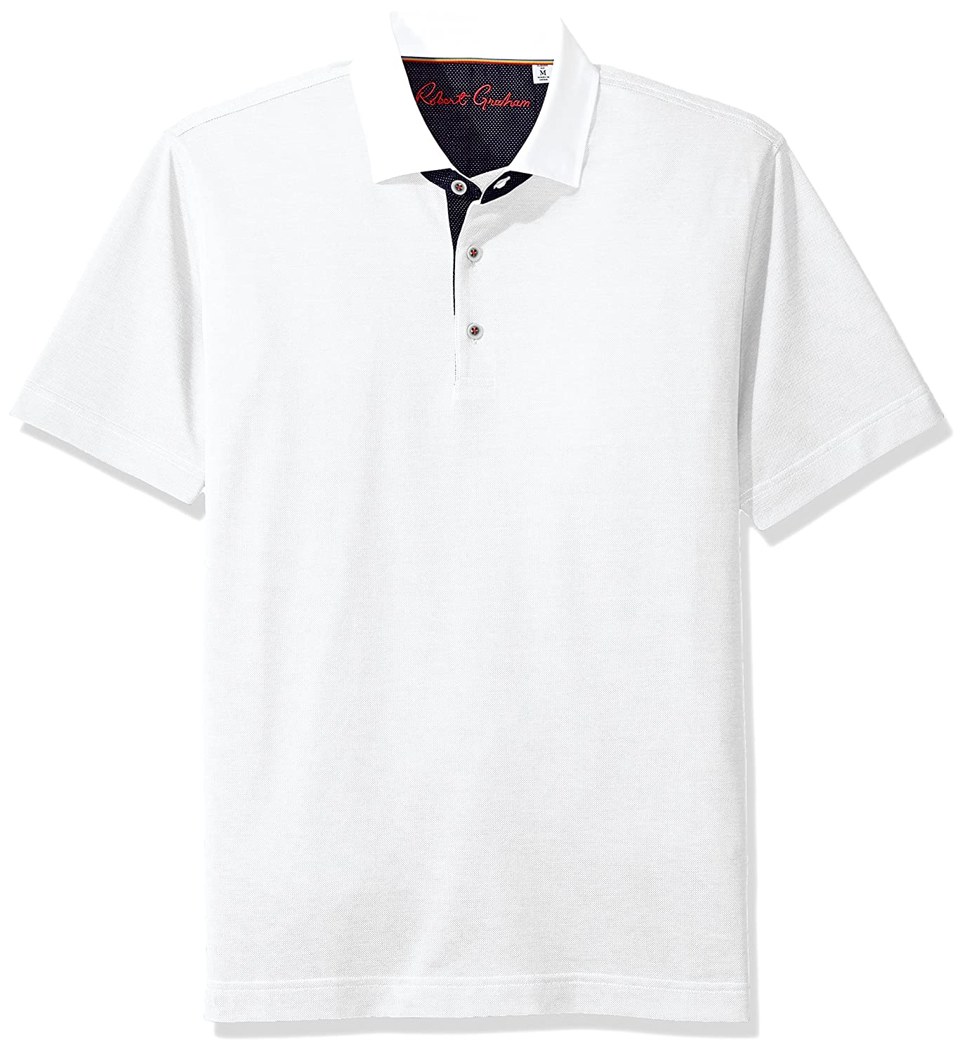 ROBERT GRAHAM MEN/'S CLOCK TOWER SHORT SLEEVE POLO CLASSIC FIT MSRP $98 NWT