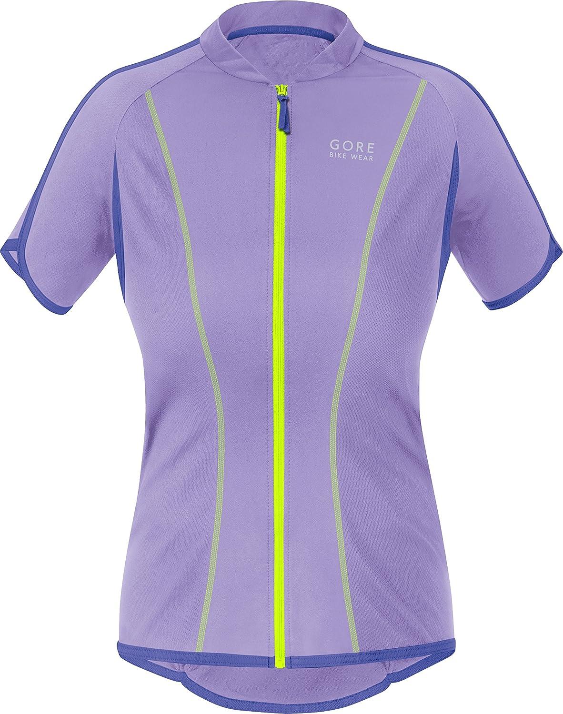 Gore Bike Wear Countdown Damens'3.0, Short Sleeve Full Zip, SCOUNF Lady Trikot,