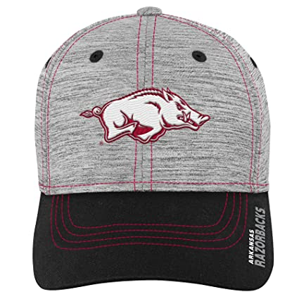 wholesale dealer 8e001 1e587 Image Unavailable. Image not available for. Color  Gen 2 NCAA Arkansas  Razorbacks Youth Boys Velocity Structured Flex Hat, Youth Boys One Size
