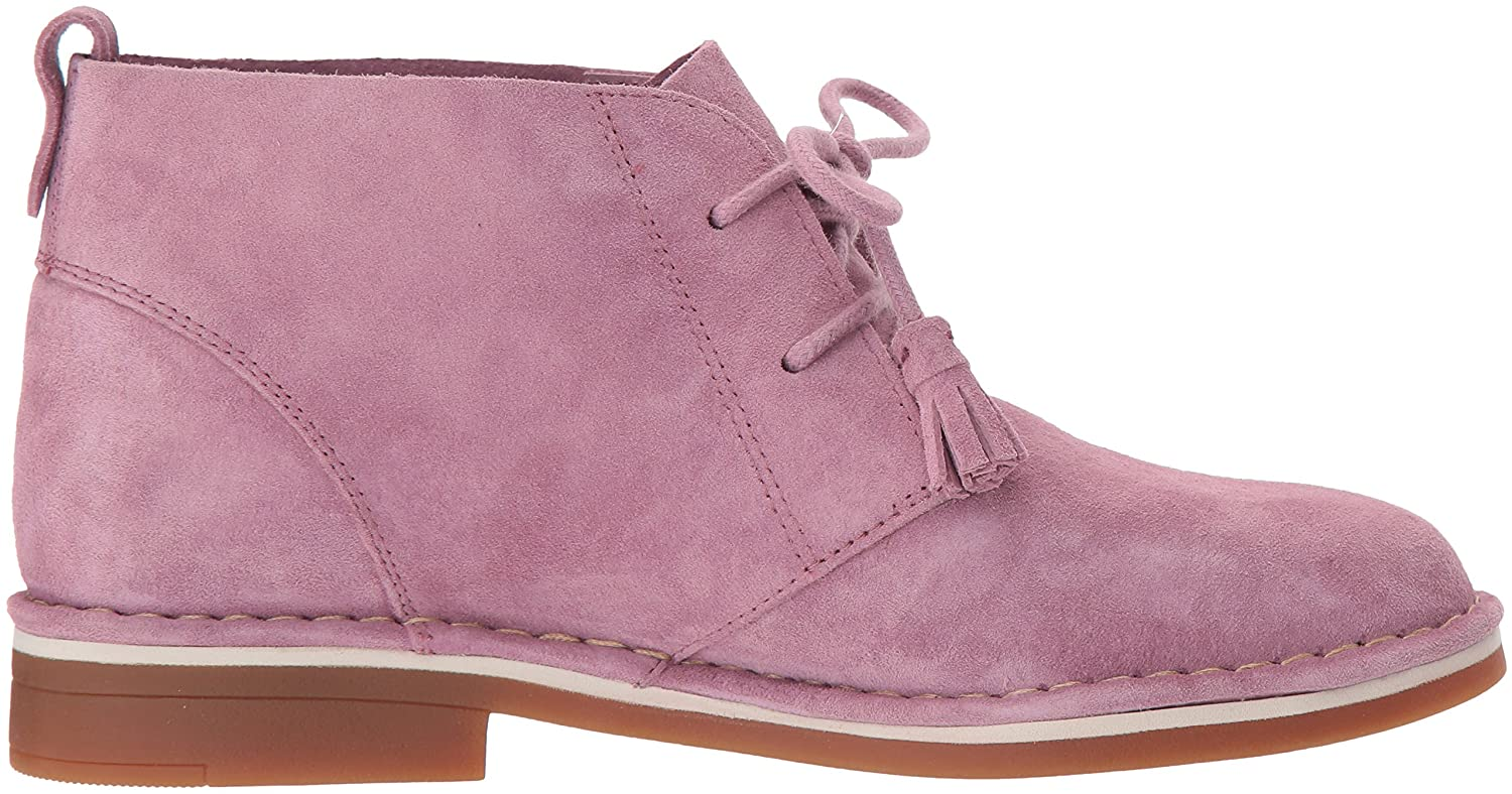 Hush Puppies Women's Cyra Catelyn Ankle Boot B0746TX5SH 6.5 W US Dusty Orchid Suede