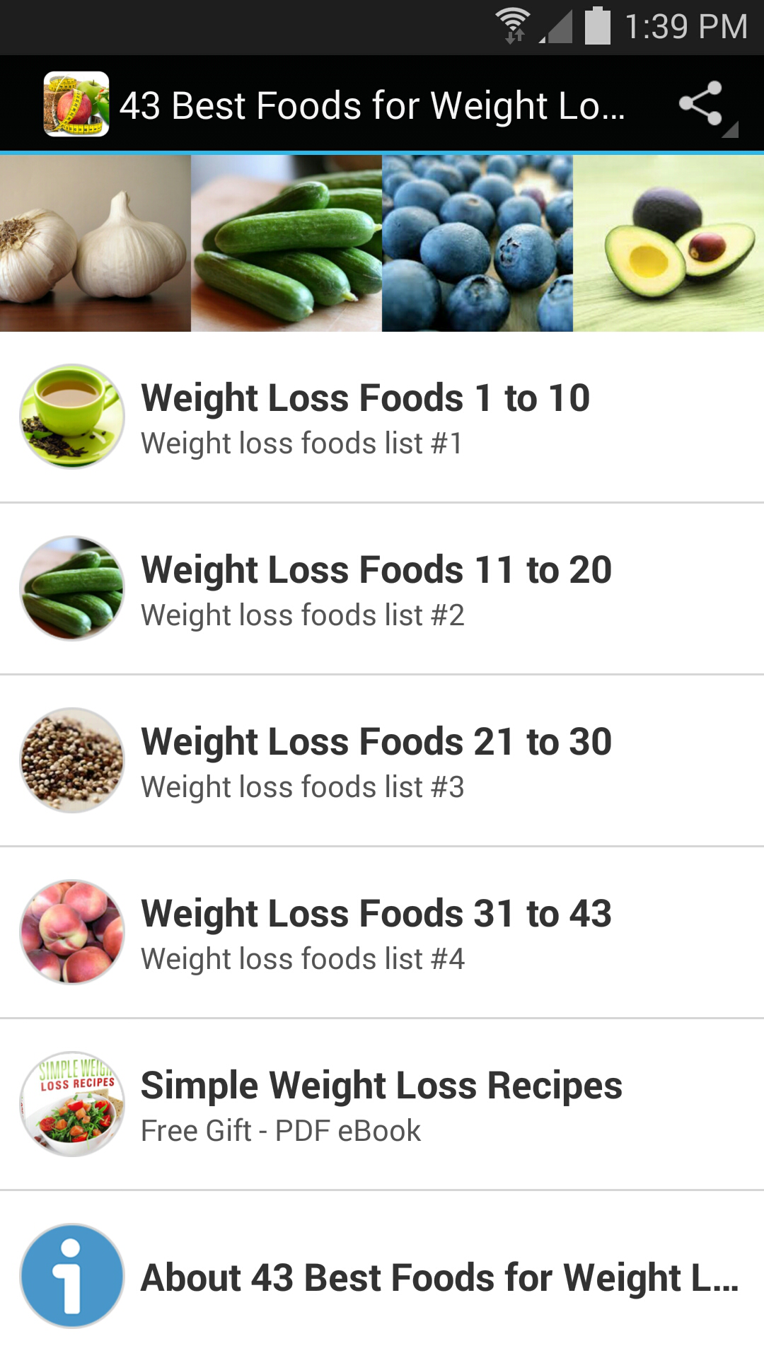 best foods for weight loss pdf