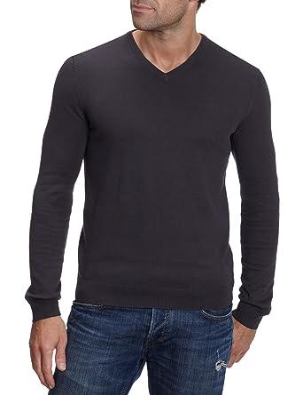 9770092b38d0 Esprit Sweater V-Neck N32305 Herren Pullover, Gr. 46, (S ...