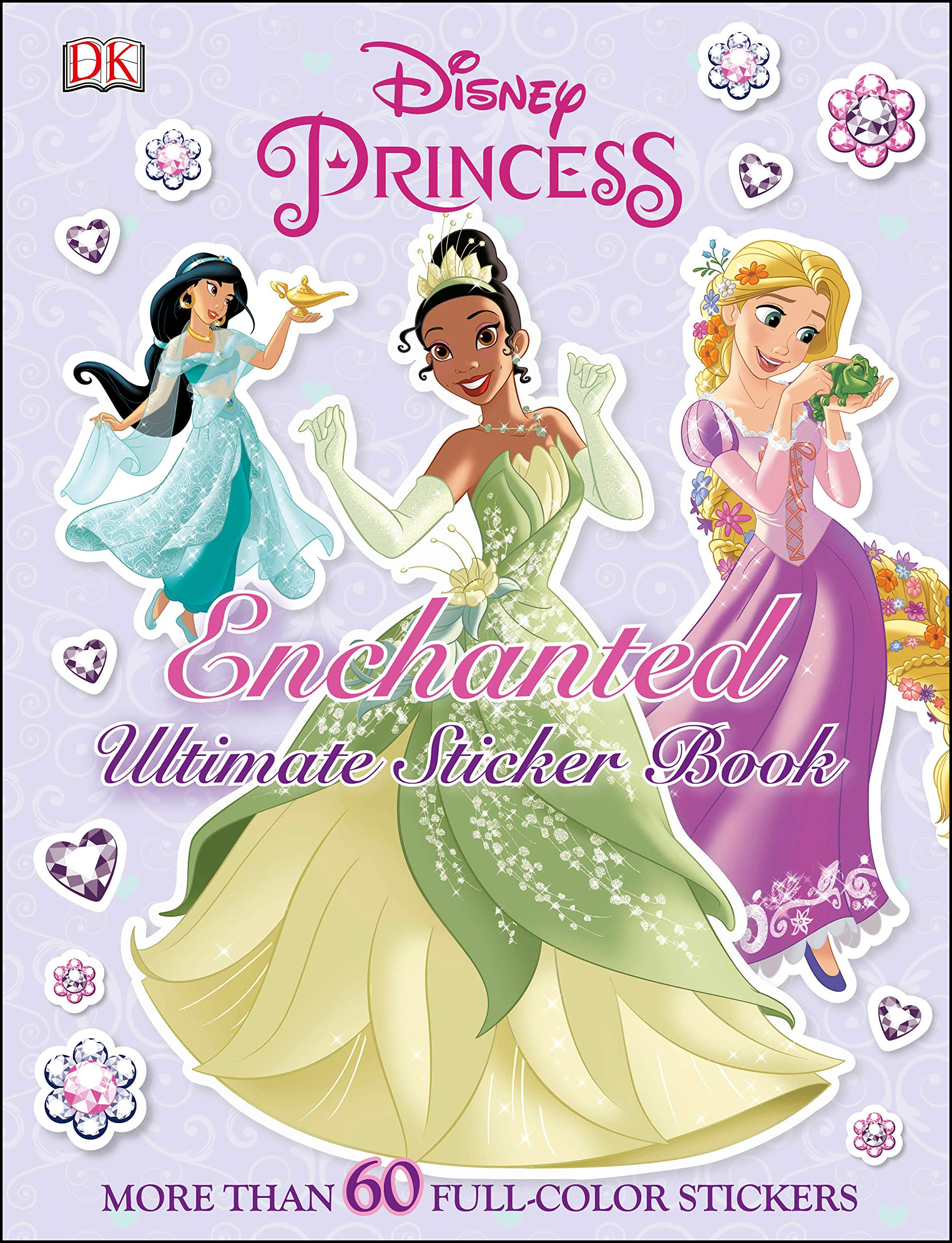 - Ultimate Sticker Book: Disney Princess: Enchanted: More Than 60