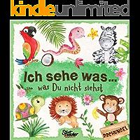 Ich sehe was, was Du nicht siehst: Ein liebevoll gestaltetes Such-Buch für Kinder ab 2 Jahren (German Edition)