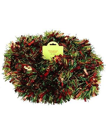 Tinsel Christmas Tinsel Shop Amazon Uk