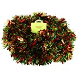 Red/Green/Gold Chunky/Fine Christmas Tinsel - 4 Metre - Christmas Decoration