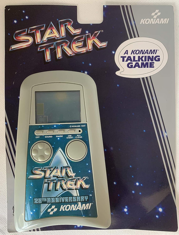 Konami Star Trek an LCD Talking Handheld Electronic Game 1991