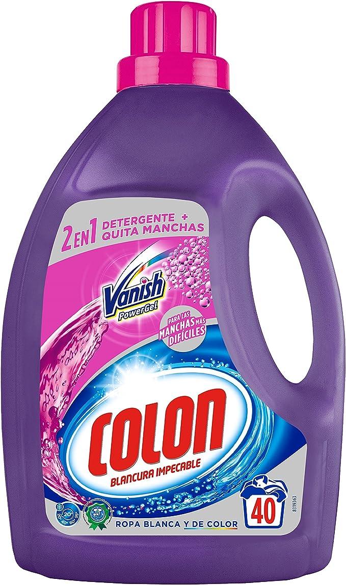 Colon Detergente para Ropa líquido con Vanish Acción Quitamanchas ...