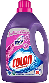 Colon Vanish Powergel - Detergente para lavadora con ...