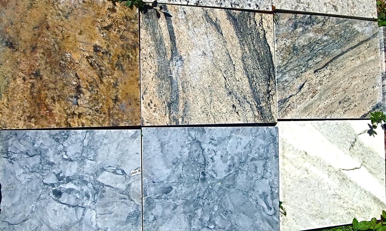 Amazon.com: Granite tiles. (solid 1 & 3/8th inch thick) Bar-Kitchen ...