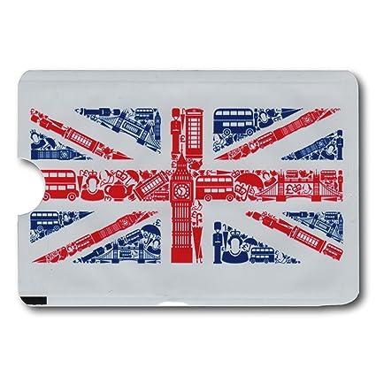 Minder® 10 unidades diseño de bandera británica tarjeta ...